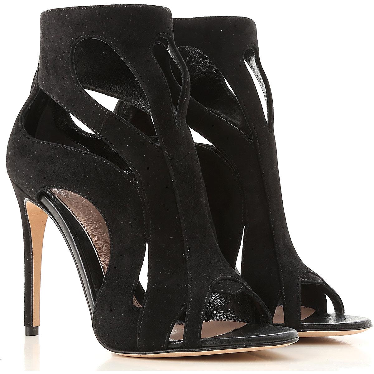 Siyah Sandalet Modelleri 2019