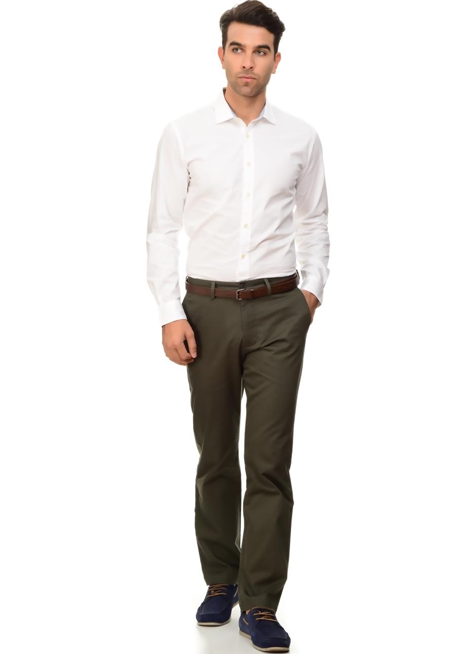 3c85fd325fb42 Dockers Standard Clean Khaki Slim - Stretch Twill Klasik Pantolon 36-34  5000127213010