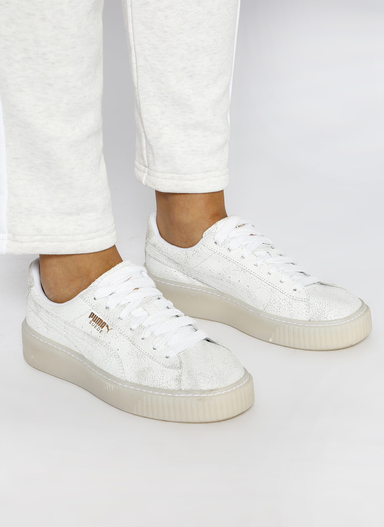 new product 2033c c00f8 Puma Suede Platform Artica Wn s Lifestyle Ayakkabı 38.5 5001632632005