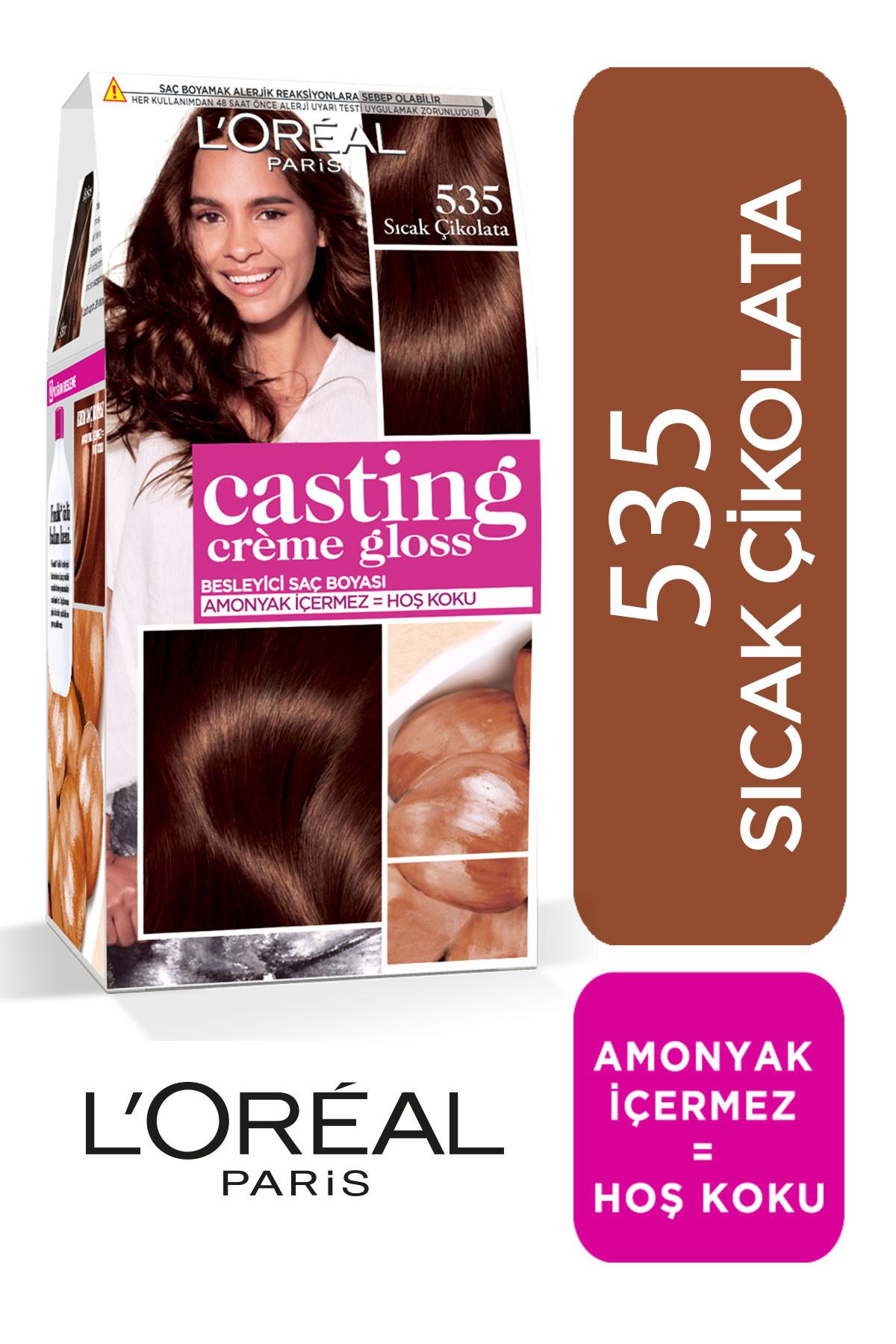 Loreal Paris Saç Boyası Casting Creme Gloss 535 Chocolat