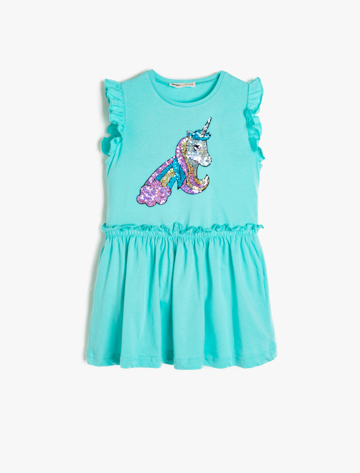 9db3aaba61d50 Koton Kız Çocuk Pul Detayli Elbise - Glami.com.tr
