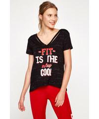 b290ee5472a16 Yeni gelenler Ücretsiz teslimat · Koton Kadın Siyah T-Shirt 8KAK12312NK