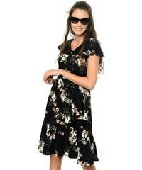 1026a551b6307 Somedays Lovin Kadın Kısa Kollu Çiçekli Volanlı Elbise