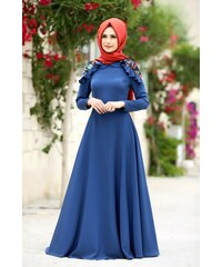 f87f871ec7224 Mavi Tesettür elbise Ücretsiz teslimatla   890 ürün tek bir yerde ...