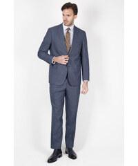 401a3b82b4eb2 Jakamen Erkek Desenli Klasik Kalıp - Classic Lacivert Takım Elbise