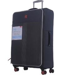 692f11d95d41a IT Luggage Büyük Boy Kumaş Valiz Gri 2145