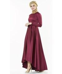 52394050cc065 E-Tesettür Fashion Night Abiye Elbise-Aqua 2224-20 - Glami.com.tr