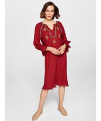 f9621681c3610 Diğer 1312 - Triko Panço Elbise - Taba 2019 Yeni Moda Giyim İade ...