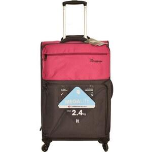 2d4e4fdfd8063 IT Luggage Orta Boy Bavul Ultra Hafif Valiz Pembe 1519 - Glami.com.tr