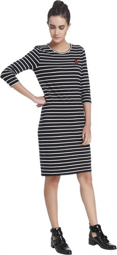 2600b18aab621 Vero Moda Bayan Elbise 10199399 Siyah - Glami.com.tr