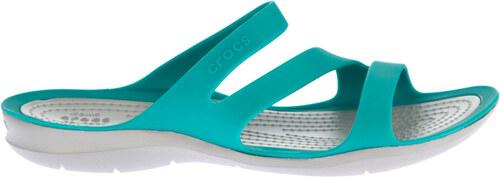 383797b51055 Crocs Turkuaz Gri Kadın Swiftwater Sandal W Sandalet 203998 - Glami ...
