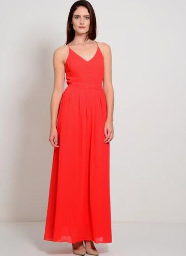 d2405bbf1948c YAS Kadın İp Askılı Uzun Elbise Kırmızı - Glami.com.tr