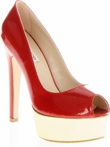 e4f763db37317 Casa Rossi Kadın Platform Topuklu Ayakkabı Kırmızı - Glami.com.tr