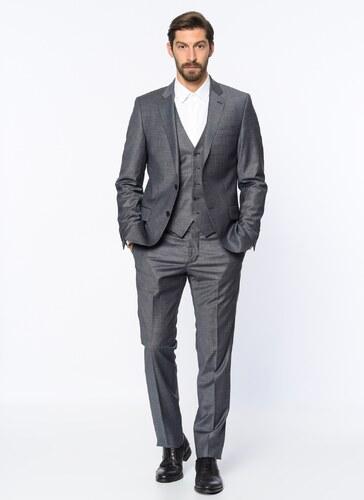 85ec91f0256f4 Beymen Business Erkek Takım Elbise Gri - Glami.com.tr