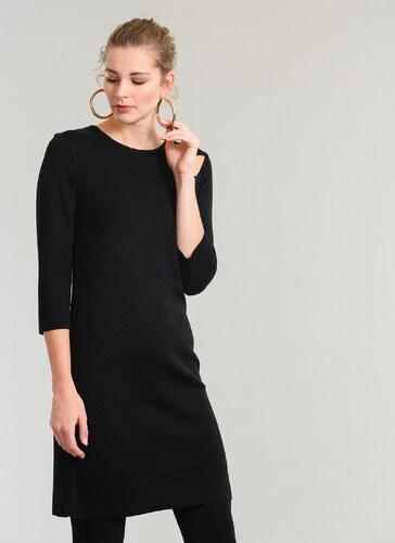 ff3c245b0d4a2 People By Fabrika Kadın Cut Out Detaylı Triko Elbise Siyah - Glami ...
