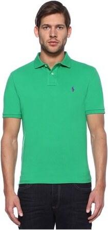 da76a26deeaea Polo Ralph Lauren Erkek Custom Slim Fit Yeşil Yaka T-shirt S EU ...