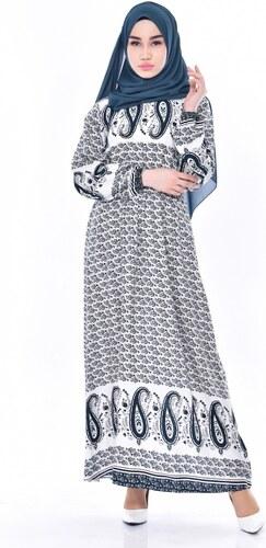 4fd201fb078a0 Sefamerve Desenli Elbise 5032-05 Zümrüt Yeşili - 50 - Glami.com.tr