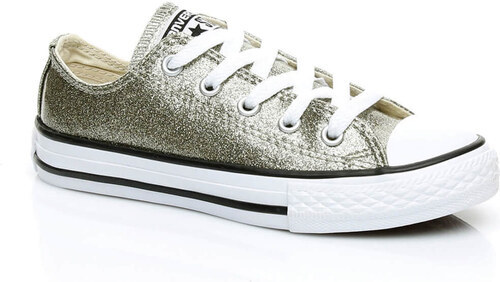 11edb549ea7009 Converse Unisex Çocuk Chuck Taylor All Star Altın Sneaker 660046C-S ...
