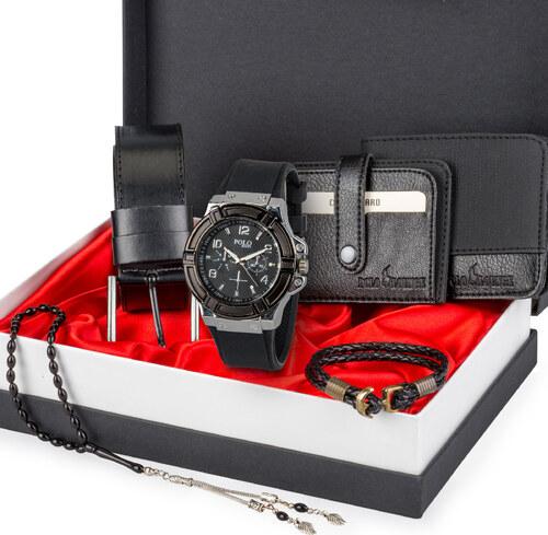 9ae753893c804 Diğer Polo Rucci Erkek Set Saat,Kemer,Cüzdan,Kartlık,Bileklik,Tespih ...