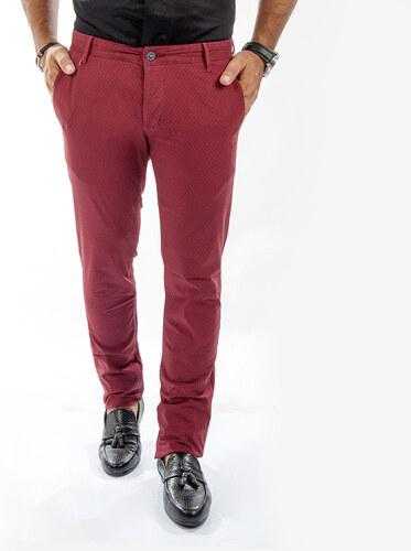 6e9be848f751e Özel Üretim DeepSEA Kare Desenli Slim Fit Erkek Keten Pantolon 1602370