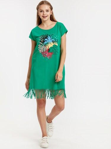 1f165b8eb9300 LC Waikiki Kadın Elbise Yeşil - Glami.com.tr