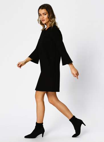 71169ca548e1b Network Yaka İşlemeli Siyah Mini Elbise 42 5001699002004 - Glami.com.tr