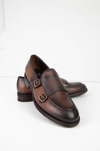 3466e192033f6 İLVİ Erkek Kahve Klasik Ayakkabı Damian-2970-62.100 - Glami.com.tr