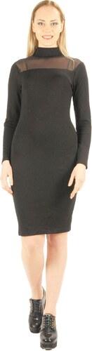 4a41326374818 Moda Royal Siyah Tül detaylı bayan elbise - Glami.com.tr
