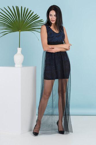 a200898303a7d Moda Royal Tarz Dekolte Kısa Abiye Elbise Tül Detaylı - Glami.com.tr