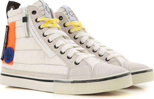a8b2754f5d7c84 Diesel Erkekler İçin Spor Ayakkabılar ve Sneakerslar İndirimli Satış, Kirli  beyaz, Kumaş, 2019