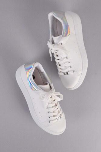 ed0a80e33b249 Bambi Beyaz Kadın Sneaker H0509300009 - Glami.com.tr