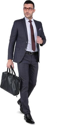 36965724c373e Buenza Erkek Baressi Mono Tek Yırtmaclı Slim Fit Takım Elbise-3B5M0413D220