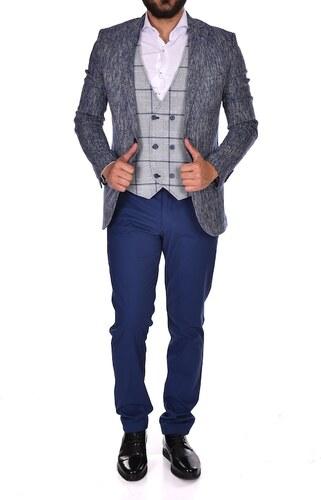 883d4f91d75b6 Süvari Erkek Slim Fit Yelekli Takım Elbise 1020200065 - Glami.com.tr
