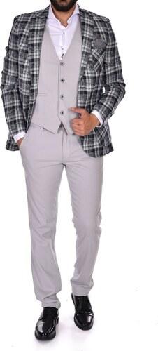 01ec5f7cc2305 Süvari Slim Fit Yelekli Takım Elbise 1020200066 - Glami.com.tr