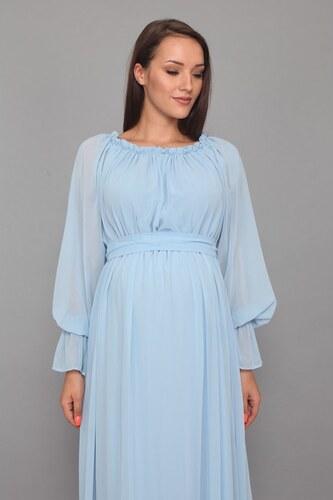 12ecc31842829 Moda Labio - Dökümlü Elbise Bebe Mavi - Glami.com.tr