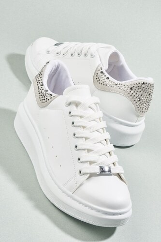92fda8e707d14 Bambi Beyaz Kadın Sneaker H0509300099 - Glami.com.tr
