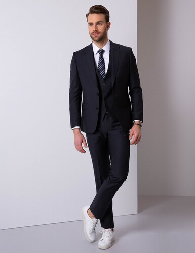 5fbd047b33fe7 Pierre Cardin Erkek Takım Elbise Siyah - Glami.com.tr