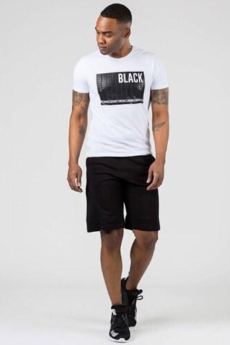 669be30e3481a Patırtı Yan Baskılı Fermuarlı Siyah Erkek Şort - Glami.com.tr