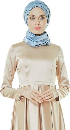 a45a9815838f2 Fashion Night Abiye Elbise-Bej 2224-11 - Glami.com.tr
