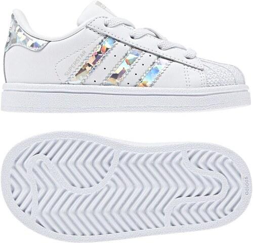 adidas Bebek Günlük Beyaz Ayakkabi Superstar El I Cg6707