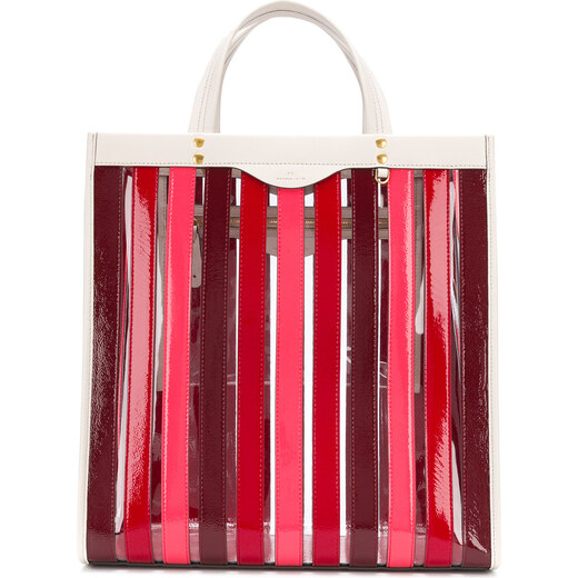9710172ae1f43 Anya Hindmarch striped tote - Red - Glami.com.tr