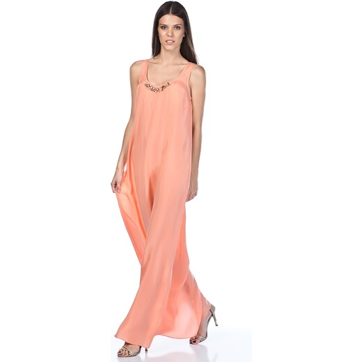 5b828003942a2 Perspective Kadın Peach Elbise 51020088 - Glami.com.tr