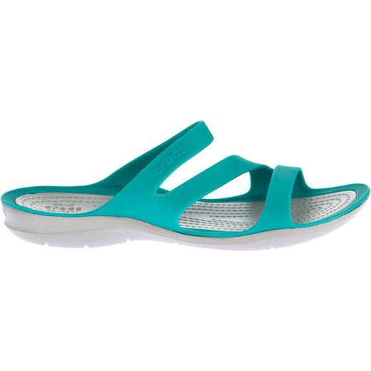 c344a06db1c2 Crocs Turkuaz Gri Kadın Swiftwater Sandal W Sandalet 203998 - Glami.com.tr