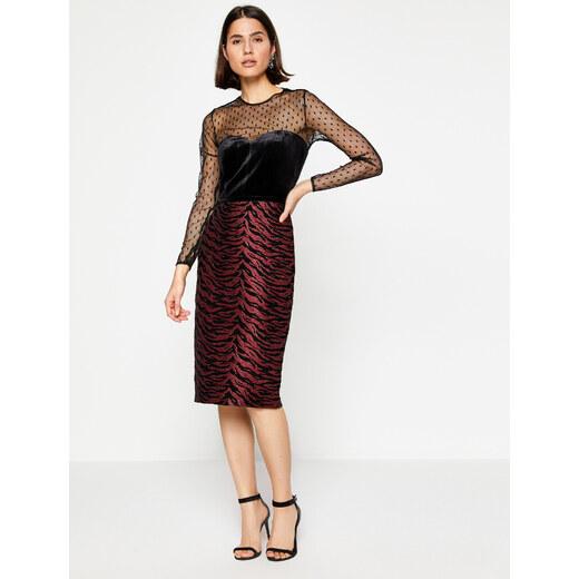 68e52e653a17a Koton Kadın Dilek Hanif For Koton Elbise - Glami.com.tr