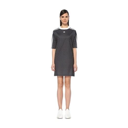 6cff6d8d91d13 Adidas Kadın Siyah Beyaz Puantiyeli Mini Spor Elbise 40 EU - Glami.com.tr